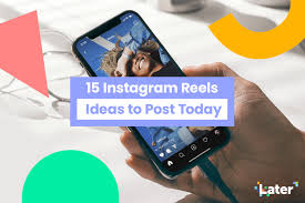 15 insram reels ideas to post today