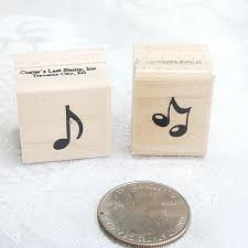 music note stamp music notes rubber stamps music notes pattern stamp single 1 8 note
