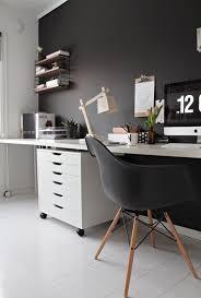 grey home office. Dark Grey Home Office
