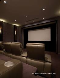 relax and enjoy home entertainment with a lutron light control system to create the perfect setting