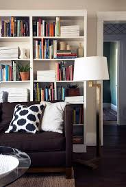 Living Room Bookcases 17 Best Ideas About Bookcase Behind Sofa On Pinterest