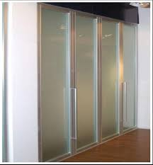 image of frosted glass bifold doors model