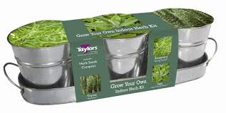 Unwins Kitchen Garden Herb Kit Taylors Windowsill Herb Kit Rosemary Sage Thyme Amazoncouk