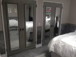 mirrored bifold closet doors instalation