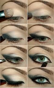 green black eye shades