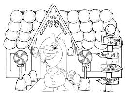 Gingerbread House Coloring Pages Printable Pictures Wallpapers 639