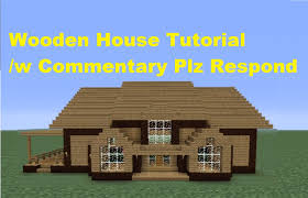 minecraft 360 how to build a wooden house house number 3