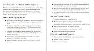 Cna Job Description For Resume Or Instructor With Skills Plus Sample