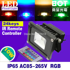 Multi Colored Flood Lights Outdoor Us 10 27 10w Led Flood Light Ac85 265v Multi Colorful Spotlight Projection Lamp Ip65 Waterproof Outdoor Lighting In Floodlights From Lights