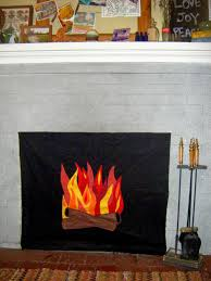 diy fake fireplace with faux fire diy do it your self for beautiful battery operated fireplace insert