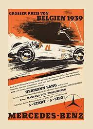 Pikbest have found 41 free mercedes poster templates could be used for poster,flyer,card and brochure. Amazon Com 1939 Belgium Mercedes Benz Car Race Sport Vintage Poster Repro 16 X 22 Image Size Posters Prints