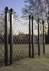 elegant paravent metal railing panels