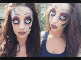 scary doll makeup tutorial elegant edition creepy broken doll makeup tutorial