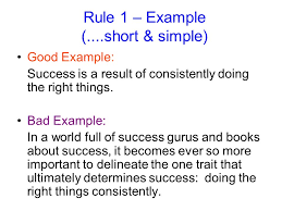 thesis statements notes you will need to formulate a thesis  rule 1 example short simple good example