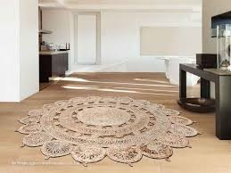image result for jute and sisal mandala rug guest room from round rug 3 feet