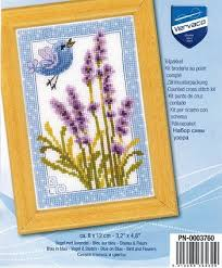 Vervaco Cross Stitch Charts Vervaco Cross Stitch Kit Purple Lavender