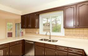 Bathroom:Attractive Cabinet Refinishing Spray Painting And Kitchen How Paint  Inside Cabinets Painted After Realtor