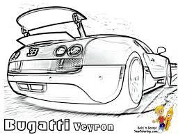 Small Picture Free Super Car Printables Bugatti Veyron 164 Spoiler At