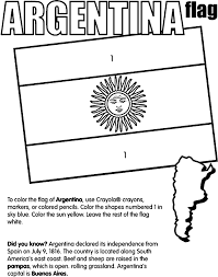 Small Picture Argentina Coloring Page crayolacom