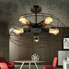country lighting fixtures for home. American Country RH Fans Ceiling Lights Fixture European Industrial Retro Lamps Home Indoor Lighting Cafes Fixtures For L