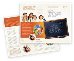 Education Brochure Templates Kids And School Brochure Template Design And Layout