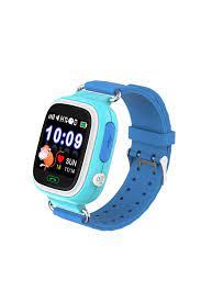 Sejuyen Q90 Gps Akıllı Saat Çocuk Takip Saati Sim Kartlı Arama - Mavi  Fiyatı, Yorumları - TRENDYOL