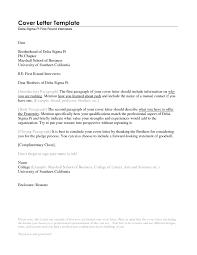 Cover Letter Set Up Cute Professional Resume Cover Letter On Set Up Proper Format For 9