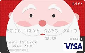 Gift Cards For Christmas Christmas Gift Cards Personalized Visa Gift Cards
