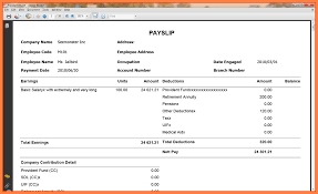 Online Payslip Template 24 Free Online Payslips Template Salary Slip 1