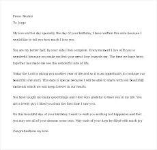 Romantic Love Letters Samples Sample Love Letter To