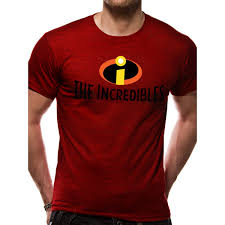 The Incredibles - Logo Men's Medium T-Shirt - Red - ozgameshop.com