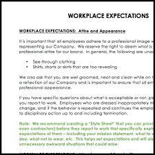 Employment Manual Template Policy Handbook Template Handbook ...