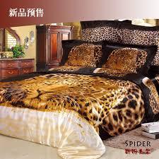 silk leopard sheets
