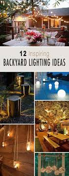 inspiring garden lighting tips. best 25 backyard lighting ideas on pinterest patio lights diy and inspiring garden tips