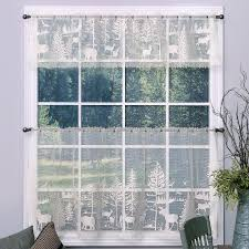Lace Window Treatments Rustic Curtains Cabin Window Treatments