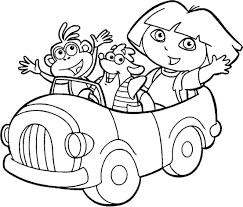 Coloriage Imprimer Dora Gratuit Coloriage Imprimer