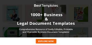 Free Business Documents Templates And Forms For Small Businesses Impressive Business Forms Templates