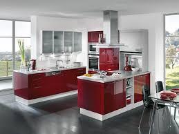 Black Modern Kitchen Interior Design  Interior U0026 Exterior DoorsModern Kitchen Interior