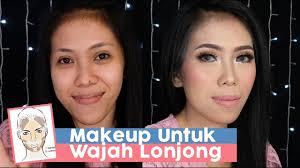 tutorial makeup untuk bentuk wajah lonjong panjang koreksimakeup