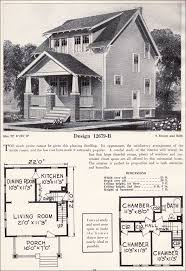 Craftsman plan cottage c l bowes company 1920s