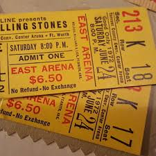Collectible Ticket Stubs Collectors Weekly