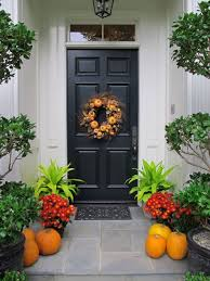 Front Door Decorating Natural Based Concept Of Fall Front Door Decor Ez Home Maintanance