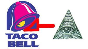 taco bell logo 666. Simple 666 Taco Bell Is Illuminati To Logo 666