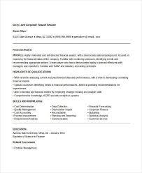 Finance Resume Custom 28 Finance Resume Templates PDF DOC Free Premium Templates
