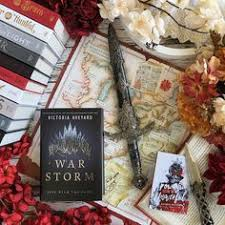 to share the super cool scarlet guard map that came in the special barnesandle edition of war storm im both excited and intimidated by this book