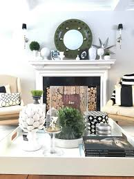 Coffee Table Tray Decor 7 Ways To Restyle After The Holidays New Year New Look