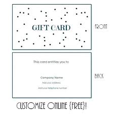 Making Certificates Online Free Make Your Own Birthday Gift Certificates Free Certificate