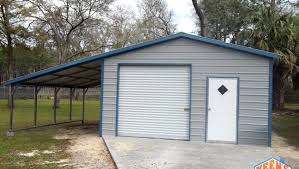 12 foot wide garage door18X21 garage one rollup door 1 walk in door 12 foot wide lean to