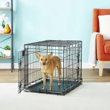 Midwest Icrate Size Breed Chart Midwest Lifestages Double Door Dog Crate 24 In