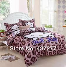 y leopard print o kitty bedding sets egypt cotton twin full queen king duvet cover flat ed sheet comforter set 4 white comforter sets queen blue
